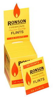 Ronson Lighter Flints Carton