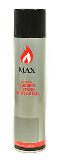 Max Gas Butane 280ml Refill Can