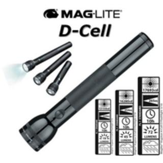 Maglite 4 D Cell Black Large Torch