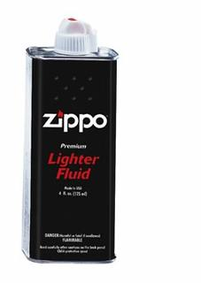 Zippo Lighter Fluid Refill 125ml Can