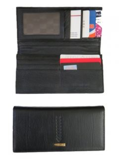 Wallet Black for Notes, Coins and Cards