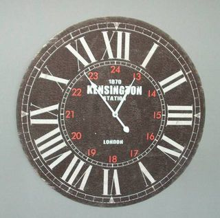 Kensington Station Clock (60cm Diameter)