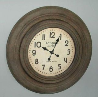 Antiquitie de Paris Clock (75cm Diameter)
