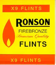 Ronson Lighter Flints