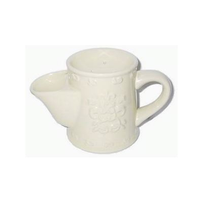 Comoy Shave Mug #3 - White Embossed
